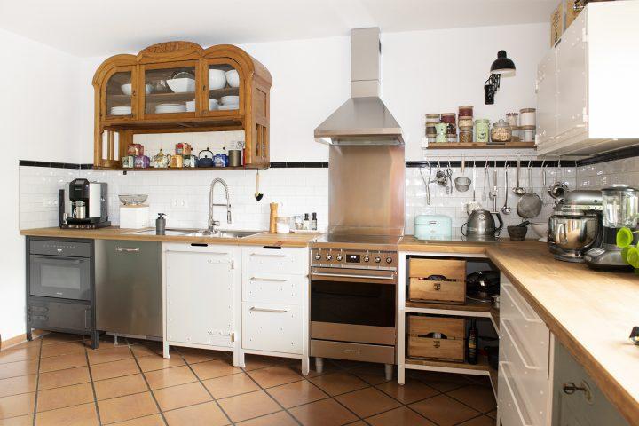 Kreative Küche im Einfamilienhaus
