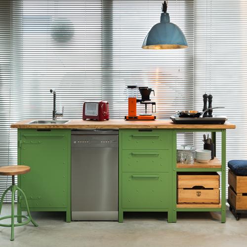 Werkstattgrün für Küchenhandwerker